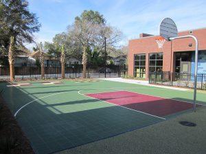 athletic equipment - basketball court